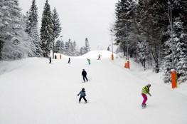 Poręba Wielka Atrakcja Stacja narciarska Koninki